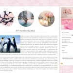 gratis bloggdesign - pink lace