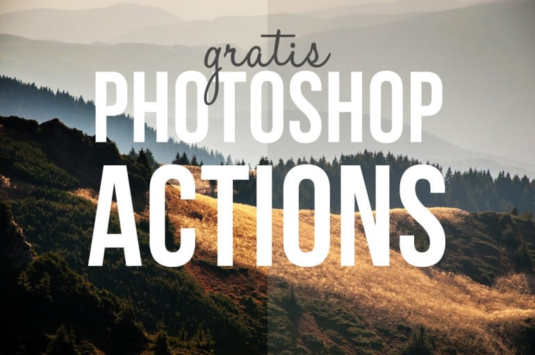 Gratis actions till Photoshop