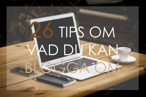 26 bloggtips