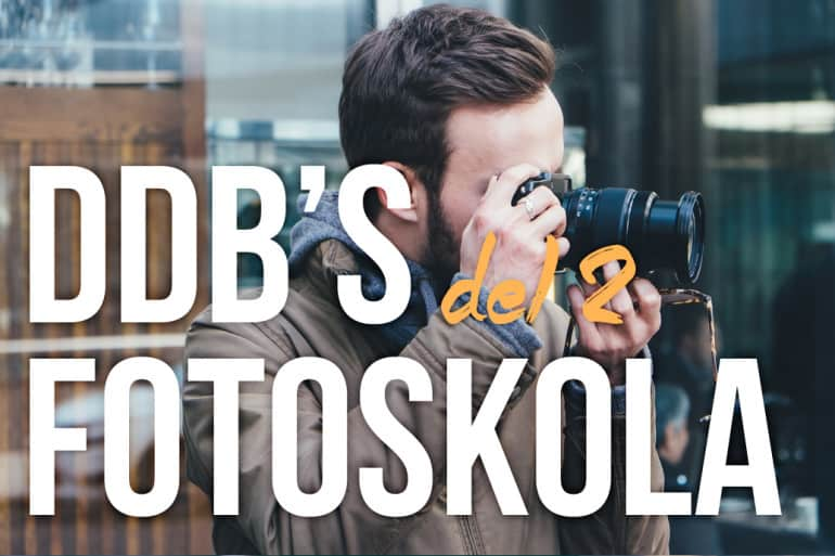 DDB's fotoskola – komposition