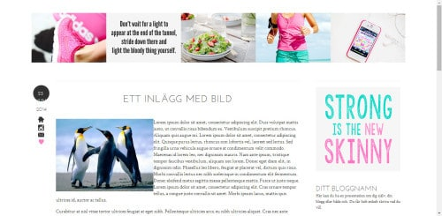 stilmall bloggdesign