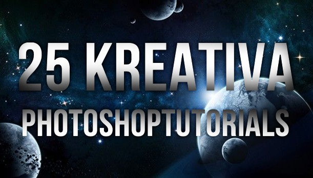 25 kreativa photoshoptutorials